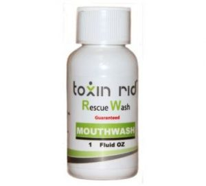 Toxin Rid Rescue Wash Mouthwash